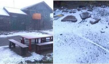 45年来首次!北海道山区8月飘雪 日本天气怎么了?