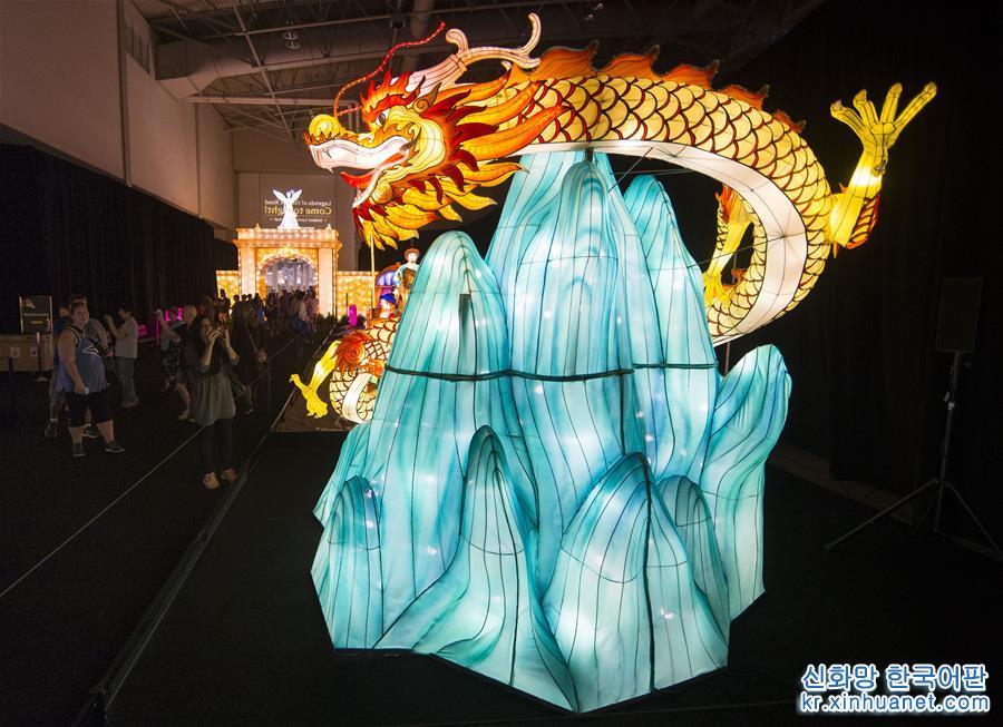 중국 &amp;lsquo;등 축제&amp;rsquo;, 캐나다 내셔널 박람회서 전시<br/>