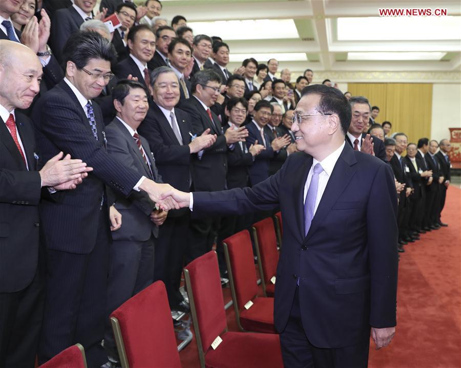 CHINA-BEIJING-LI KEQIANG-JAPAN-MEETING (CN)