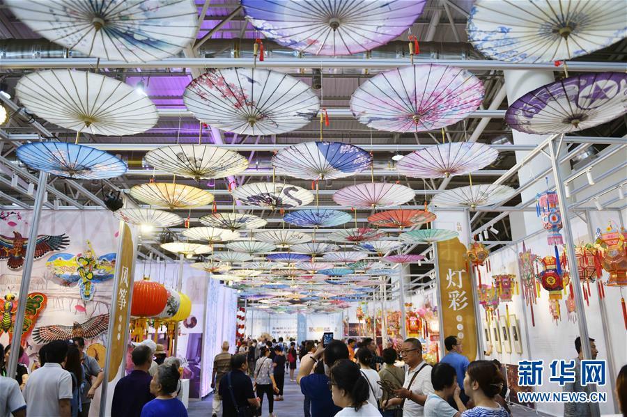 <br/>  9月13日,第五届中国非物质文化遗产博览会在山东济南开幕。<br/>