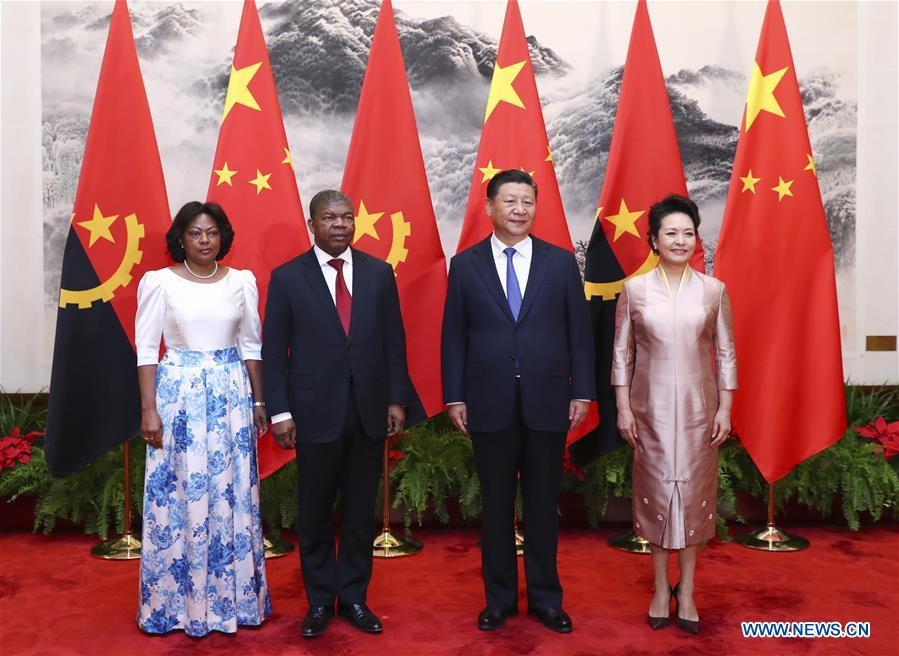 CHINA-BEIJING-XI JINPING-ANGOLA-PRESIDENT-TALKS (CN)