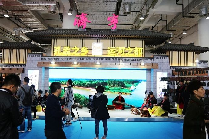 Highlights of the exhibition areas of Shandong cultural industries fair