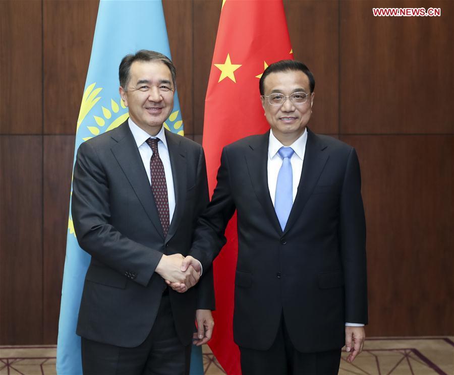 TAJIKISTAN-CHINA-LI KEQIANG-MEETING