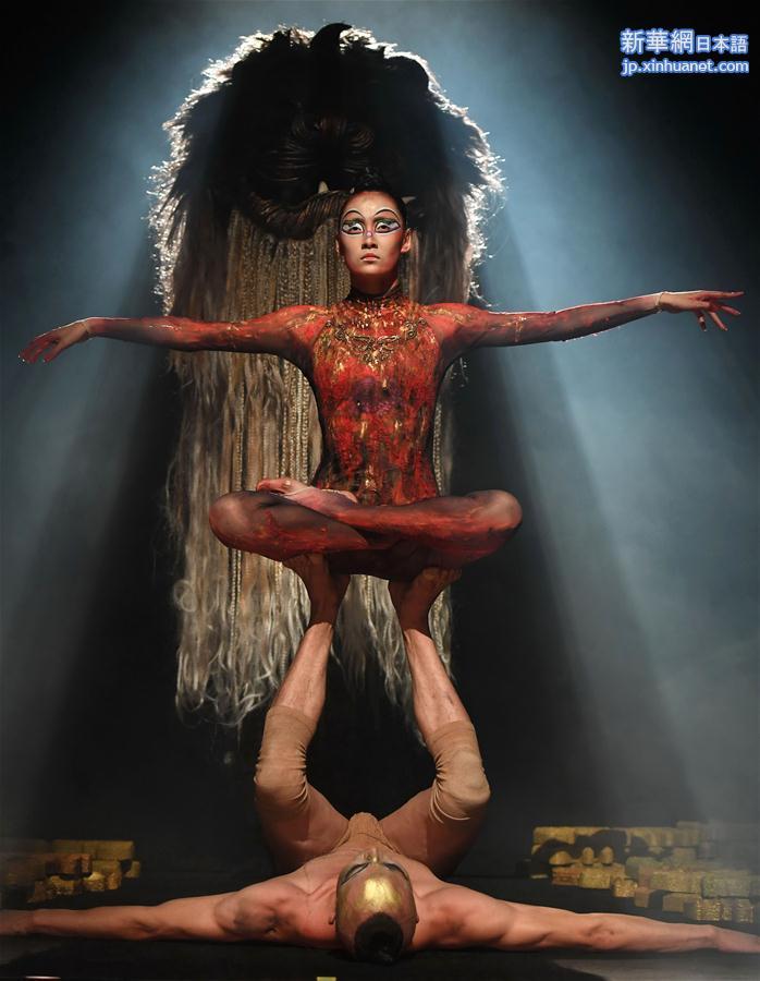 (文化)(4)杨丽萍新舞剧《春之祭》在昆明上演
