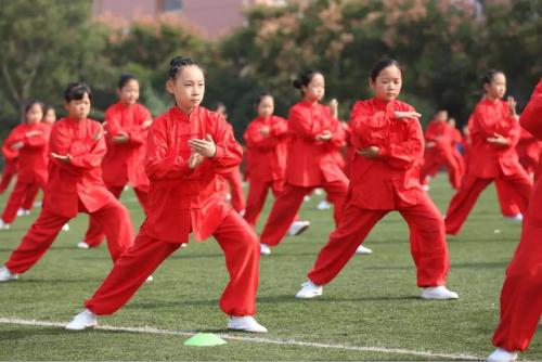 """济南市中区中小学生首届""""功夫少年"""" 演武大会精彩呈现"""