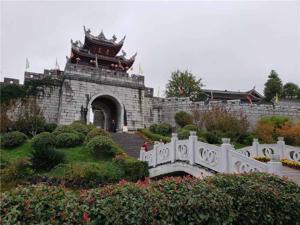 多彩贵州·浪漫秋冬 走进贵州四大古镇之一青岩古镇
