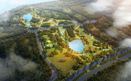 藏马河公园效果图 西海岸发展集团供图
