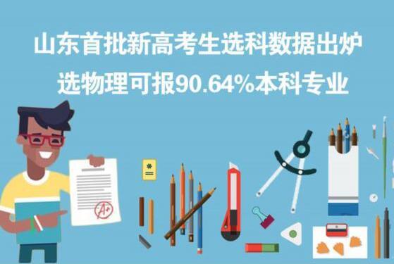 山东首批新高考生选科数据出炉