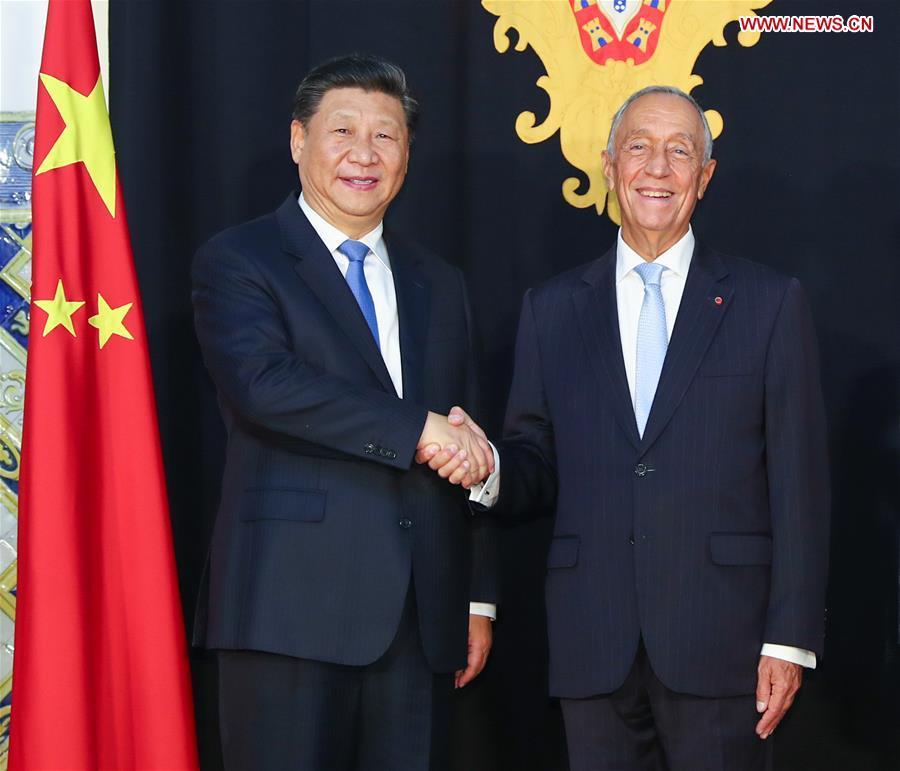 PORTUGAL-CHINA-PRESIDENTS-TALKS