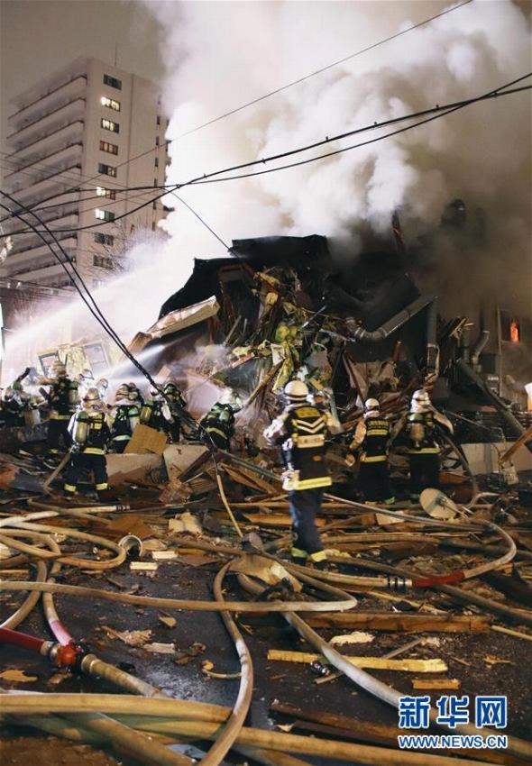 札幌の飲食店などが入る建物で爆発事故、40人以上負傷