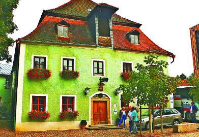 访德国最古老餐馆与鞋店