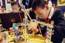 山西试点中小学创客教育 培养中小学生创新精神