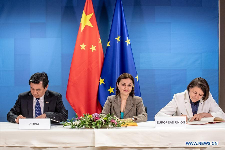 Xinhua Headlines: Milestone deal on civil aviation to enhance China-EU cooperation
