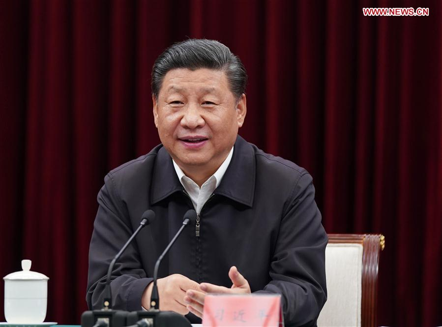CHINA-JIANGXI-XI JINPING-INSPECTION-CENTRAL REGION-SYMPOSIUM (CN)