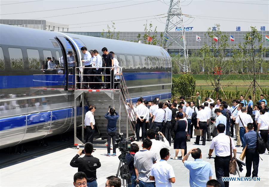 CHINA-SHANDONG-600 KPH MAGLEV TRAIN-PROTOTYPE (CN)