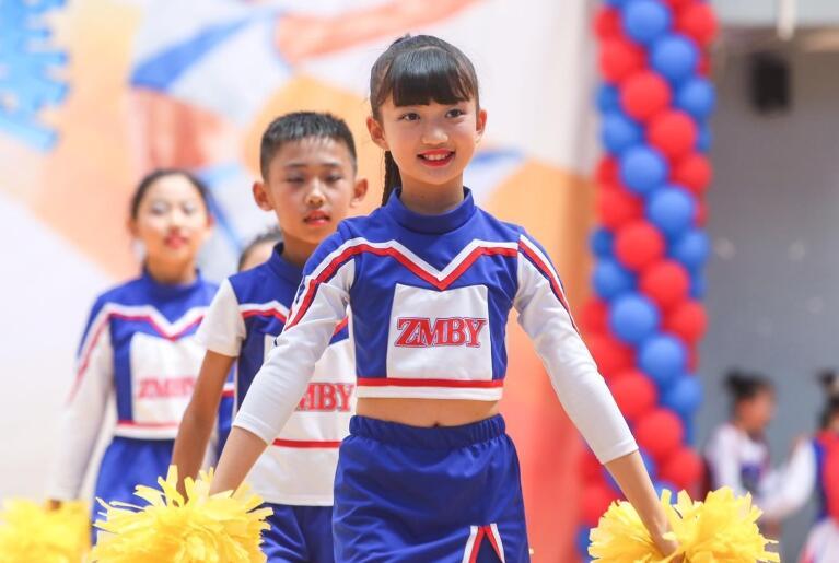 2019年济南市校园健美操啦啦操比赛举行