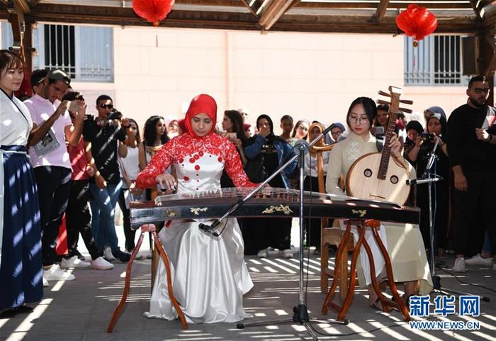 공자학원 문화의 날 행사, 이집트 박물관 입성