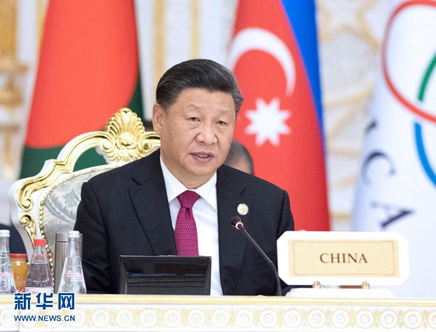 [사진 출처: 신화망]<br/>  제5차 &lsquo;아시아 교류 및 신뢰 구축 회의(CICA)&rsquo; 정상포럼이 지난 15일 타지키스탄의 수도 두샨베에서 열렸다. 시진핑(習近平) 중국 국가주석은 포럼에 참석해 &ldquo;아시아 안보와 발전의 새 국면을 함께 열자&rdquo;를 주제로 기조연설을 했다.<br/>