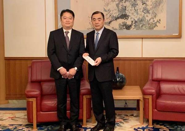 孔鉉佑駐日大使「中日の防災経験共有の継続を」