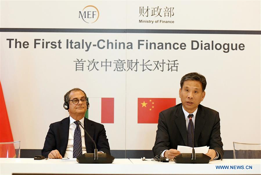 ITALY-MILAN-CHINA-FINANCE DIALOGUE-LIU KUN