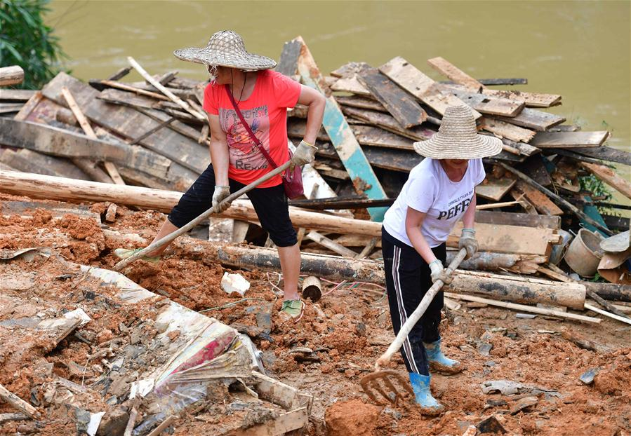 CHINA-GUANGXI-RONGAN-FLOODS-RECONSTRUCTION (CN)
