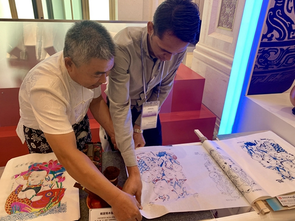 Shandong cultural legacies showcased to the world