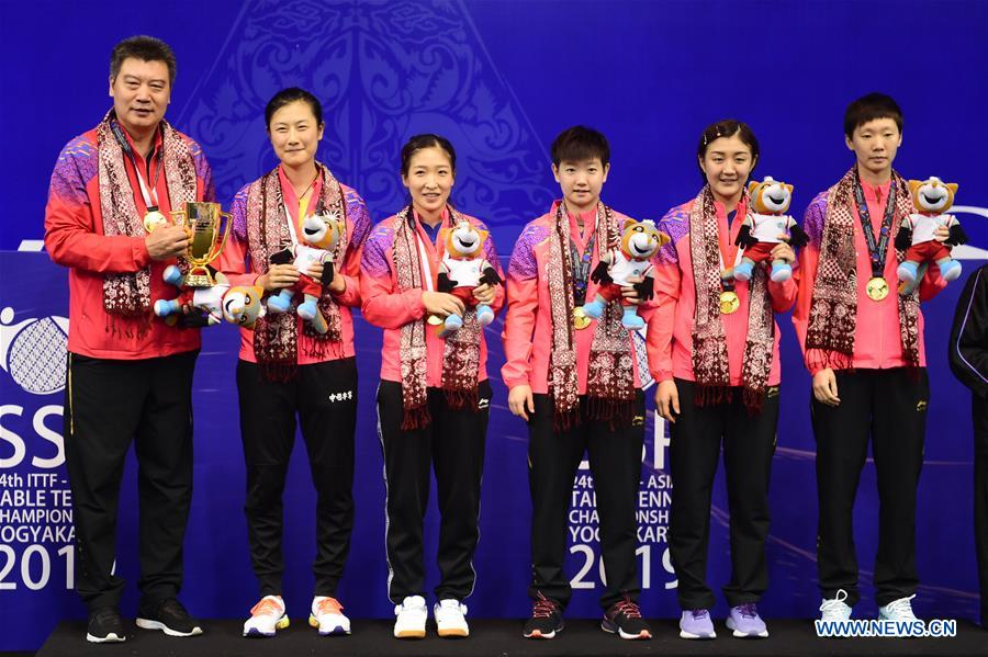 (SP)INDONESIA-YOGYAKARTA-TABLE TENNIS-ASIAN CHAMPIONSHIP