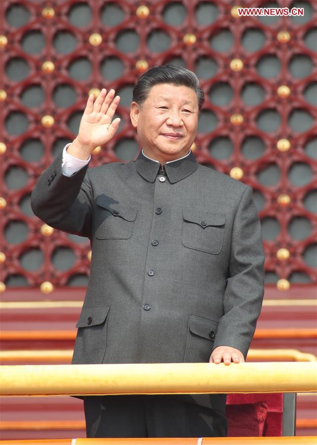 (PRC70Years)CHINA-BEIJING-NATIONAL DAY-XI JINPING (CN)
