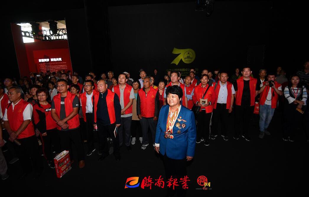 【家国同梦70年】章丘区三涧溪村村民代表受邀参观庆祝中华人民共和国成立70周年发展成就展