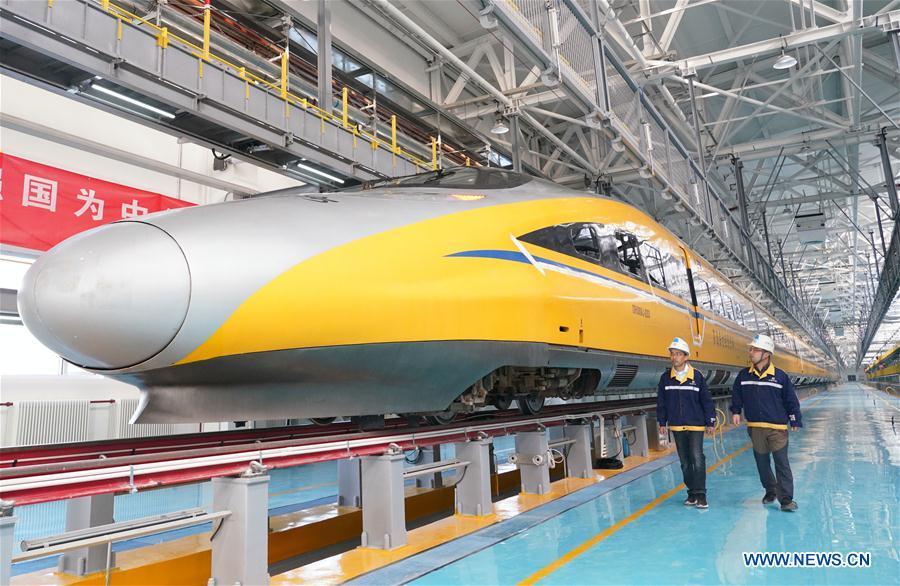 CHINA-BEIJING-ZHANGJIAKOU-HIGH-SPEED RAILWAY-MAINTENANCE STATION (CN)