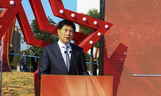 文化和旅游部党组成员王晓峰讲话。