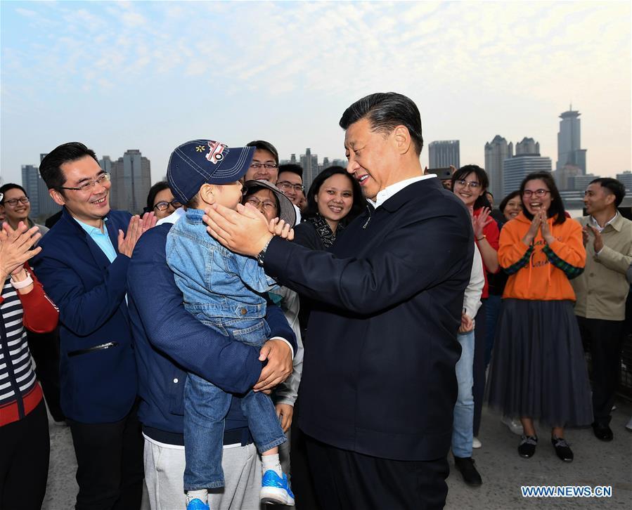 CHINA-SHANGHAI-XI JINPING-INSPECTION (CN)