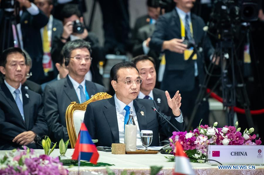 THAILAND-BANGKOK-LI KEQIANG-CHINA-ASEAN LEADERS'' MEETING