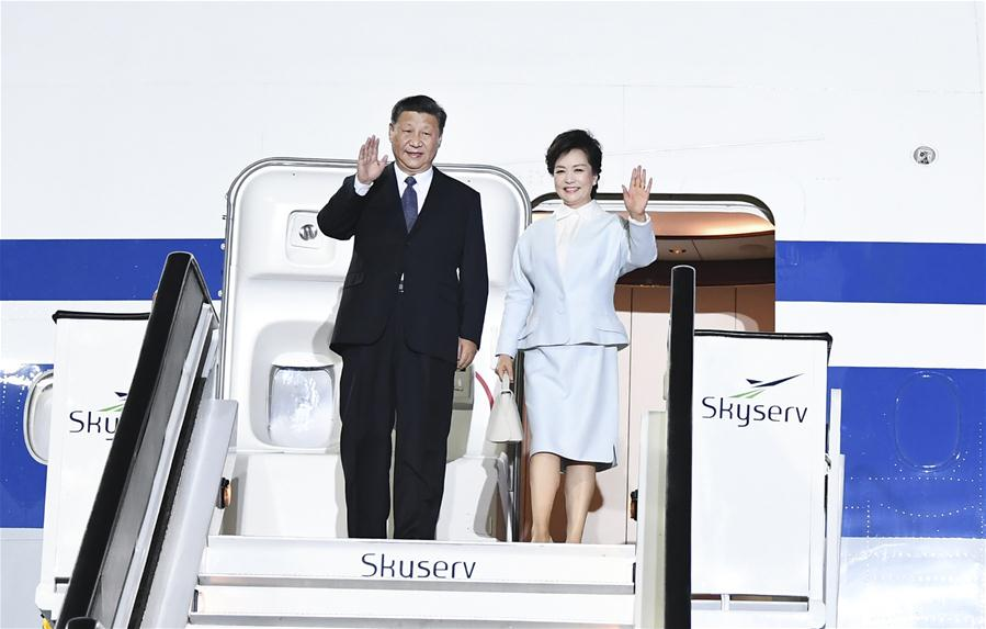 GREECE-ATHENS-CHINA-XI JINPING-STATE VISIT-ARRIVAL