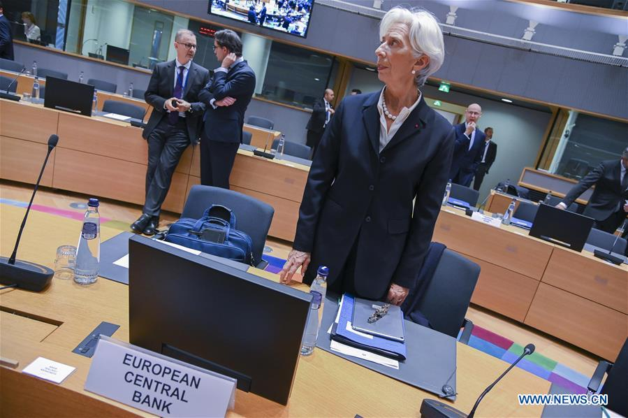 BELGIUM-BRUSSELS-EUROGROUP-MEETING