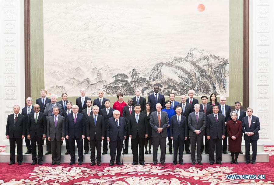 CHINA-BEIJING-XI JINPING-NEW ECONOMY FORUM-MEETING (CN)