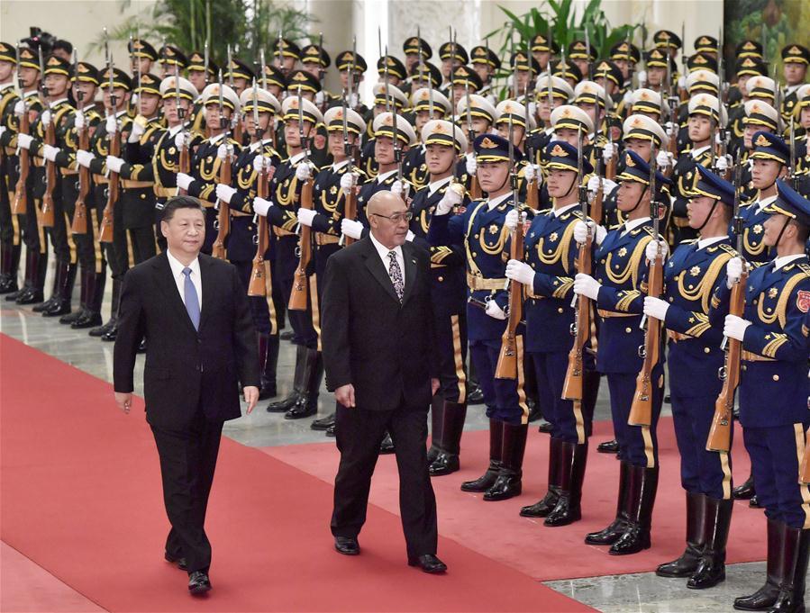 CHINA-BEIJING-XI JINPING-SURINAME-PRESIDENT-TALKS (CN)