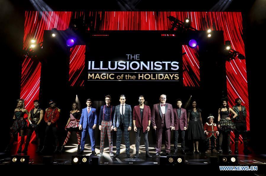 U.S.-NEW YORK-THE ILLUSIONISTS-MAGIC SHOW