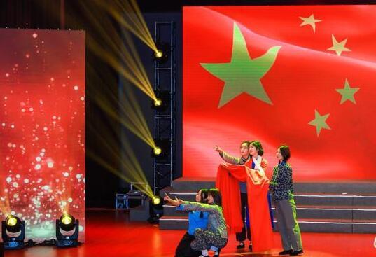 """上海高校学子举行纪念""""一二·九""""运动84周年主题歌会"""