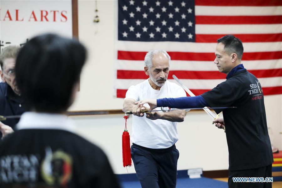 U.S.-NEW YORK-TAI CHI-FORMER WORLD CHAMPION