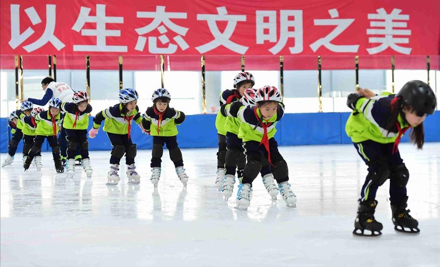 동계올림픽 테스트경기 30일 카운트다운, 옌칭 동계올림픽 적극 지지