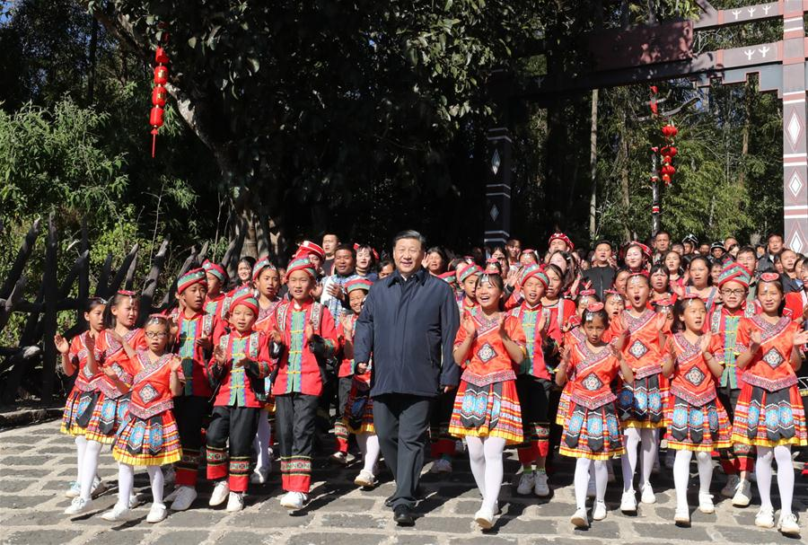 CHINA-YUNNAN-XI JINPING-INSPECTION (CN)
