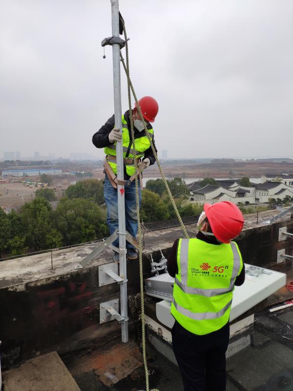 中国联通完成火神山医院3G/4G/5G通信网络全覆盖