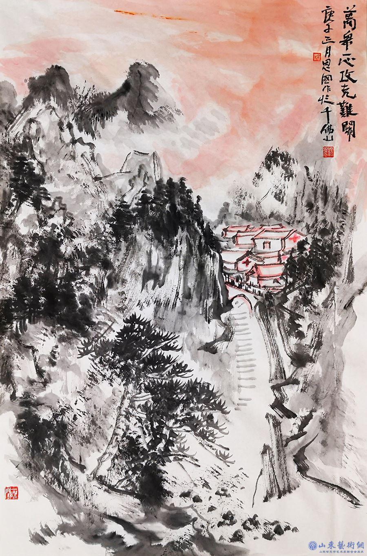 6杨恩国 《万众一心攻克难关》.jpg