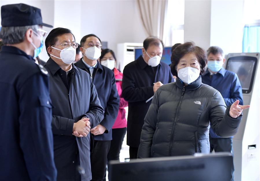 CHINA-HUBEI-WUHAN-SUN CHUNLAN-MEDIC-ANTI-VIRUS BATTLE (CN)