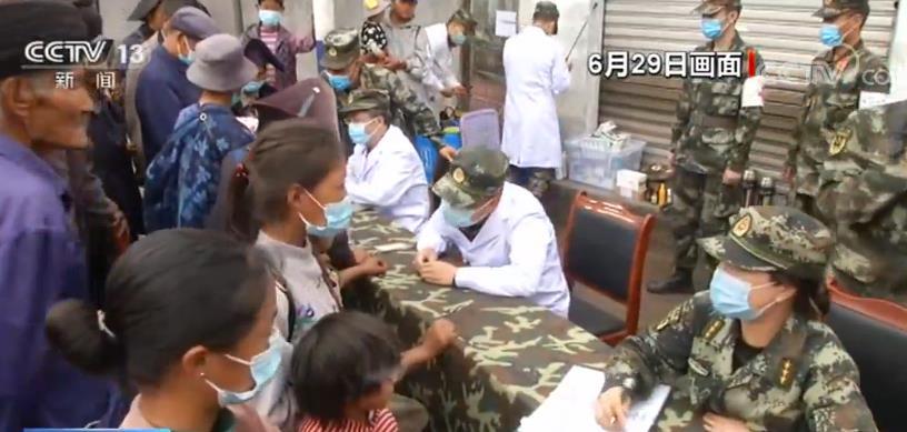 四川冕宁设立临时安置点 确保受灾群众妥善安置
