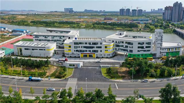 威海南海新区实验中学正式投入使