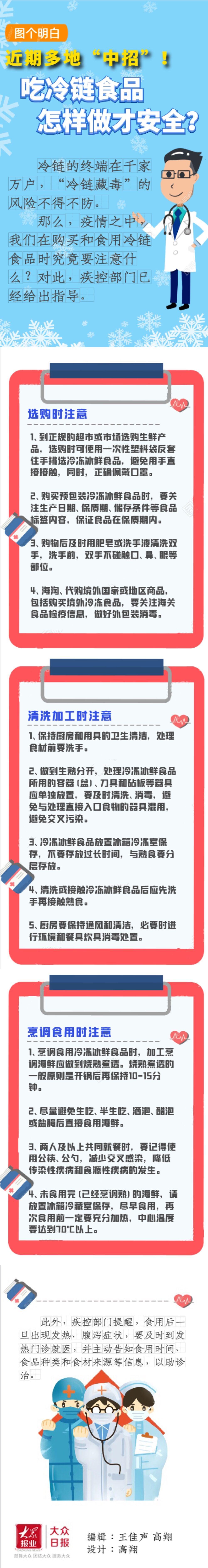 """《【天游在线娱乐】图个明白 近期多地""""中招""""!吃冷链食品怎样做才安全?》"""