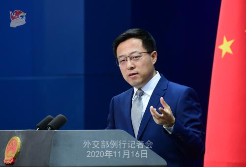 外交部、RCEPの締結は地域経済統合の重要な一里塚