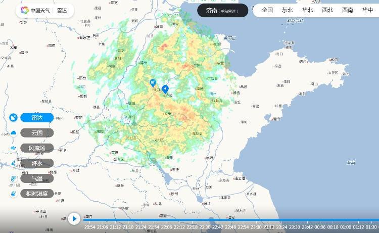 面对这场突破历史同期极值的降雨,山东严阵以待